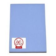 Gumis lepedő 80x160-as méretben kék (vasalás könnyített)