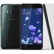 Telefon mobil HTC U11 64GB Dual SIM 4G Brilliant Black Bonus Incarcator Auto USB Spacer