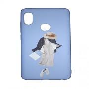 NPRC 3D Printed Designer Soft Rubber Mobile Back Case Cover for Redmi Note 5 Pro