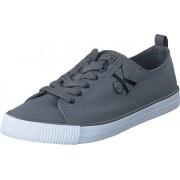 Calvin Klein Jeans Dora Canvas Grey, Skor, Sneakers & Sportskor, Låga sneakers, Grå, Blå, Dam, 36