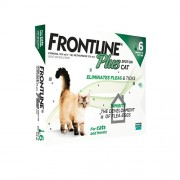 Frontline Plus For Cats & Kittens, 6 Pack