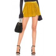 Free People Dance the Night Away Skort in Mustard. - size 0 (also in 2,4,6,8)
