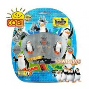 Set 3 figurine - Pinguinii din Madagascar