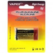 VAPEX 9V PLUS Alkaline PP3 tartóselem