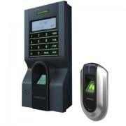 KIT de control acces si pontaj cu amprenta (controler plus cititor suplimentar) ZKTeco KIT-FPAP-8 (ZKTeco)