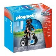 Policeman With Balance Racer
