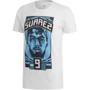Adidas - Suarez Graphic shirt - Heren - Kleding - Wit - S