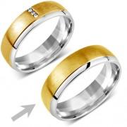 Silvego Snubní ocelový prsten pro muže VIENNE - RRC2046-M