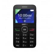 Alcatel 2008G nagygombos mobiltelefon, kártyafüggetlen, fm rádiós fekete