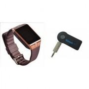 Mirza DZ09 Smart Watch and Car Bluetooth for LG OPTIMUS G PRO(DZ09 Smart Watch With 4G Sim Card Memory Card| Car Bluetooth)