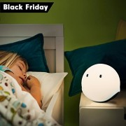 Emie Elfy Touch Sensor Night Light Lovely Baymax Light for Bedside Perfect Kids Room Lighting Romantic Atmosphere decorative Lamp with LED lights