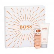 HUGO BOSS Boss Orange set cadou apa de toaleta 30 ml + lotiune de corp 100 ml pentru femei