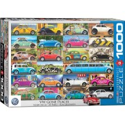 Boosterbox VW Gone Places - Puzzel (1000)