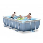 Сглобяем басейн с филтърна помпа INTEX Prism Frame Rectangular, 300 х 175 х 80 см.