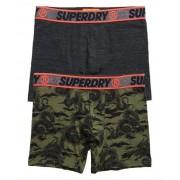 Superdry Boxershorts aus Bio-Baumwolle im 2er-Pack M grün