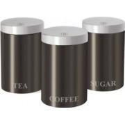 Set condimente din 3 piese Material Inox + set cutite 3 piese inox grunberg