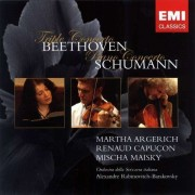 Martha Argerich - Beethoven & Schumann Concertos: Live From The Lugano Festival (0724355777324) (1 CD)
