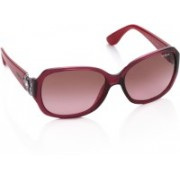 Vogue Over-sized Sunglasses(Violet)