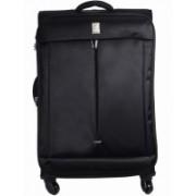 Delsey FLIGHT 65 4W EXP. TSA TR. CASE Medium Briefcase - For Men & Women(Black)