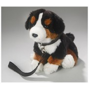 Stuffed Animal Bernese Mountain Dog Puppy, 8 inches, 21cm, Plush Toy, Soft Toy by Carl Dick
