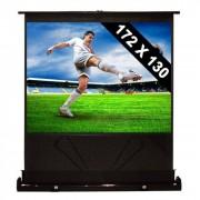 """FrontStage Pantalla de pie extraíble para proyector y cine en casa HDTV 86"""" 172x130cm 4:3 (PS-LUA-QSFC-86"""")"""