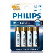 Philips 4-pack Batterier AA Ultra Alkaline 1,5V