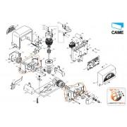 CAME Cassa motoriduttore BX – 119RIBX009