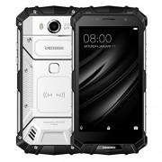DOOGEE Celular S60 de triple protección con 6GB RAM + 64GB ROM. 5.2 pulgadas, batería de 5580 mAh, Android 7.0, MediaTek Helio P25 octa Core (ocho núcleos) de hasta 2.5 GHz. WCDMA y GSM y FDD-LTE, Plateado