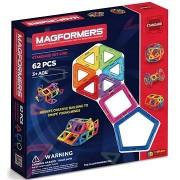 Magformers mágneses építőkészlet, 62 db