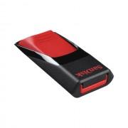USB DRIVE, 16GB, Sandisk Cruzer-Edge, USB2.0, Black (SDCZ51-064G-B35)
