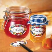 Etichete ovale de uz casnic-model fructe