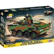 Set de construit Cobi, Small Army, Patria AMV/KTO Rosomak (442pcs)