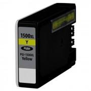 """""""Tinteiro Canon Maxify Compatível PGI-1500 XL Amarelo"""""""