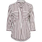 Vero Moda Bluză pentru femei VMERIKA STRIPE 3/4 SHIRT TOP E10 COLOR Port Royale XS