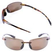 Mass Vision Lovin Maui anteojos de sol polarizadas para hombre y mujer, 2 pares de anteojos de sol polarizadas, No polarizado: tortuga/tortuga., M