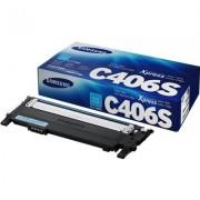 Samsung CLT-C406S cyan tonerkassett
