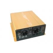 Feszültség átalakító inverter Solartronics Gold 24v-230v 1500 Watt