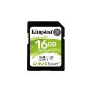 SD Kingston Canvas Select SDS 16GB class10 UHS-I SDHC(80MB/s-10MB/s)