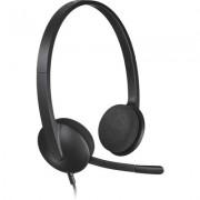 Слушалки с микрофон Logitech H340 USB