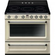 SMEG Tr90ip9 Cucina 90x60 5 Zone Cottura A Induzione Forno Termoventilato 115 Li