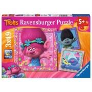 RAVENSBURGER - PUZZLE TROLLS, 3X49 PIESE (RVSPC08013)