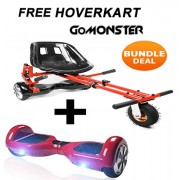 "FREE Monster Hoverkart with 6.5"" Segway Hoverboard - Create Your Bundle"