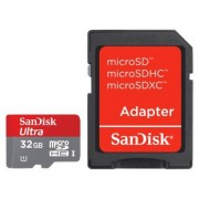 Memorija micro SD Sandisk 32GB Class 10 Ultra Android HD + SD Adapter 67615