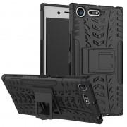 Capa Híbrida Antiderrapante para Sony Xperia XZ Premium - Preto