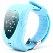 Ceas Smartwatch GPS Copii iUni U11 Telefon incoporat Alarma SOS Blue Bonus Bratara Roca Vulcanica unisex