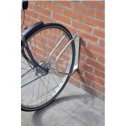 Dunlop fietsenrek voor muurbevestiging.