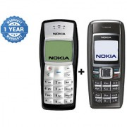 Refurbished Nokia 1100 & 1600 (1 Year WarrantyBazaar Warranty)