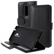 Bolsa tipo Carteira Premium para Nokia 5 - Preto