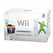 NINTENDO Console Nintendo Wii + Pack just dance Blanc
