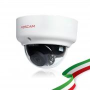 TELECAMERA RICONDIZIONATA Foscam FI9961EP da esterno waterproof HD 2 megapixel POE funzione P2P 4mm 70°